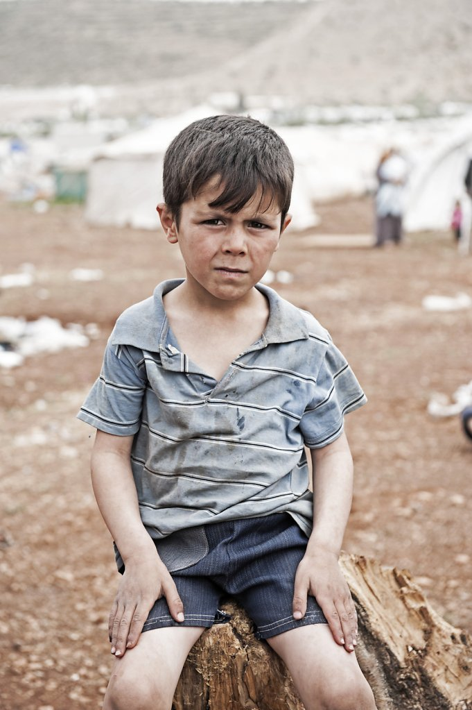 Syrien, 2014, Fluechtlingslager, Bab Al Hava