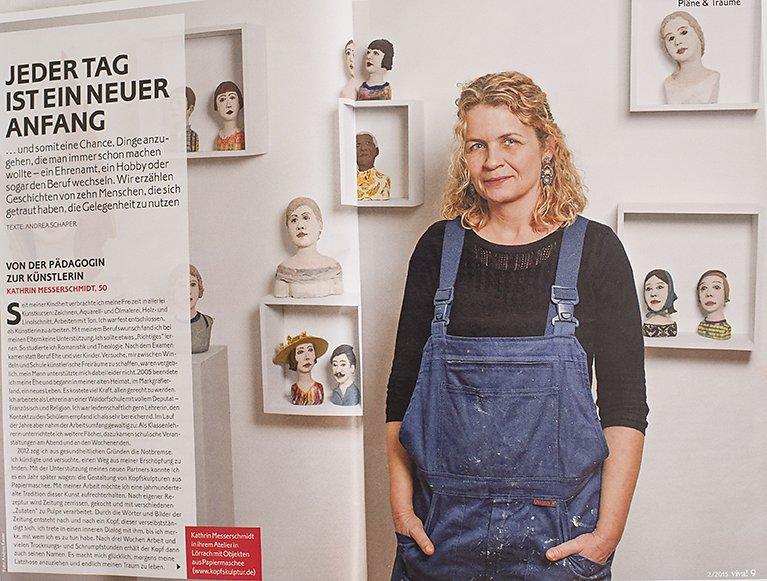 Viva Magazin, Kathrin Messerschmidt, K?nstlerin